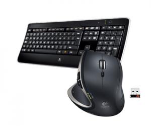 Illuminated Keyboard K800 & Performance Mouse MX