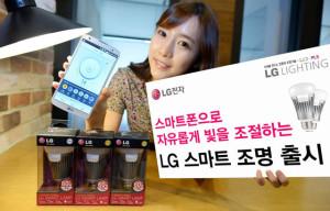 lg smart bulb le nuove lampadine di casa LG completamente programmabili tramite iOS ed Android