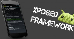 Logo descrittivo dell' Xposed Framework