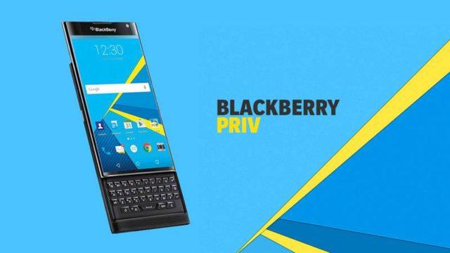 BlackBerry Priv: tutti i dettagli