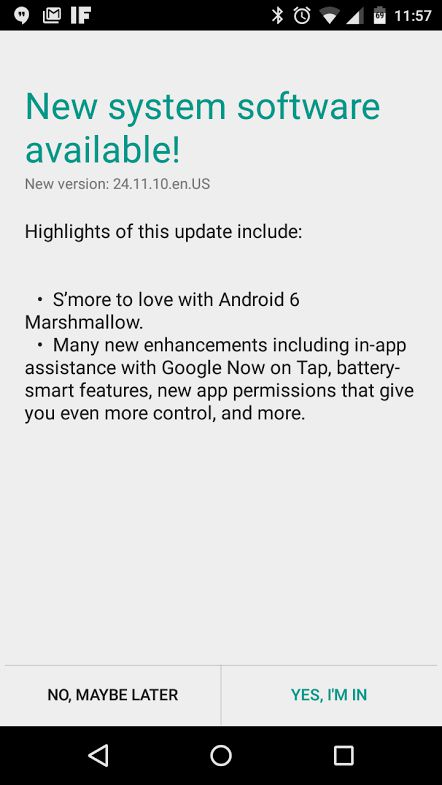 Moto G 2014 upgrade Marshmallow