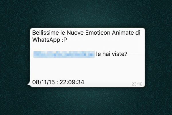 Whatsapp Truffa