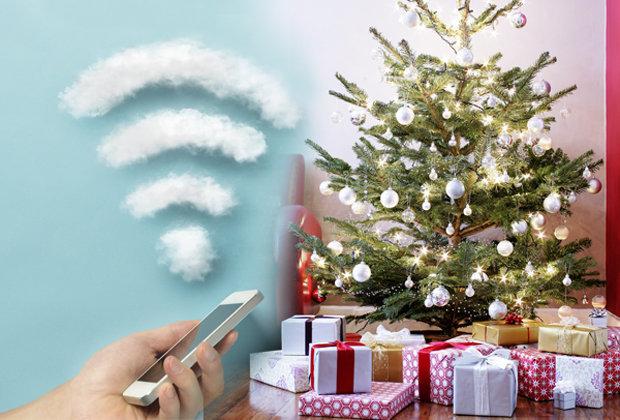 Wifi e il Natale