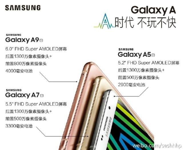 Galaxy A9 ultimi rumors e prezzo
