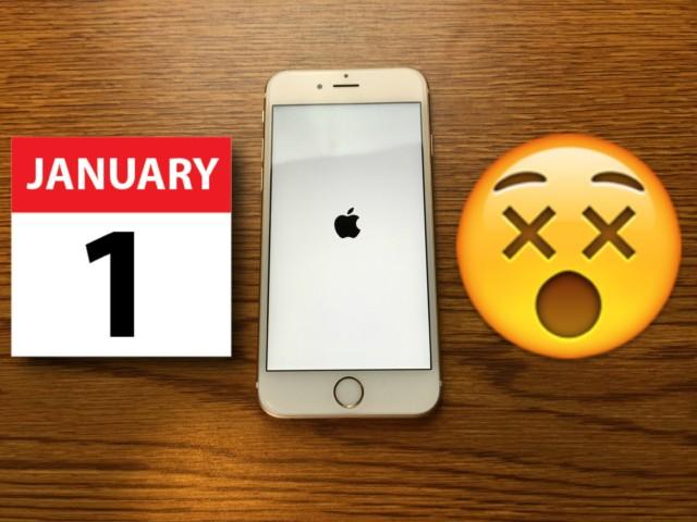 iPhone bug: 1 gennaio 1970