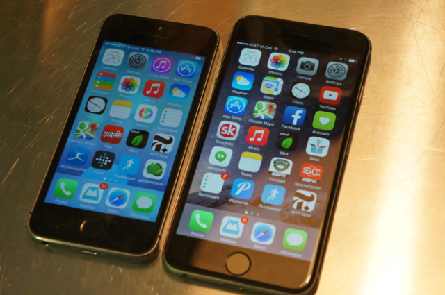 iPhone 6 e iPhone 5S
