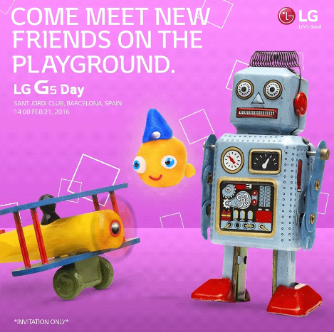 LG G5 la data ufficiale del successore di LG G4