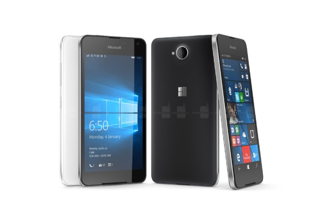 Microsoft Lumia 650 vs 640