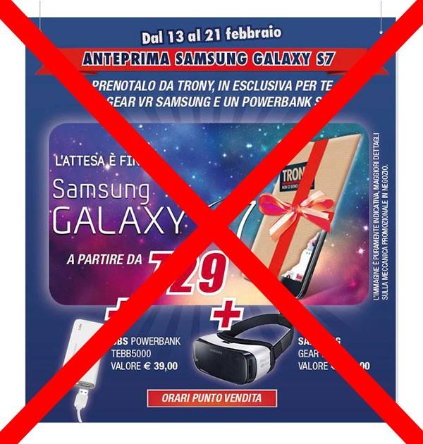 Galaxy S7 da Trony