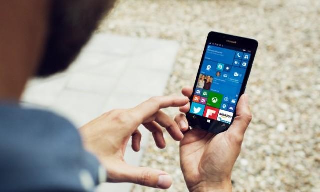 Lumia 950 XL, 950 e 550 aggiornamento Windows 10
