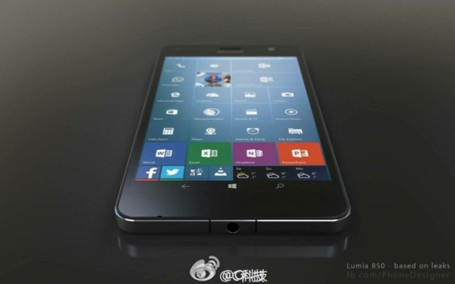 Lumia 850 versione economica di Lumia 950 XL
