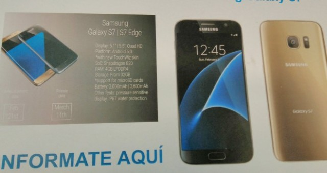 Galaxy S7 e Galaxy S7 Edge Spagna