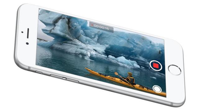 iPhone 5SE fotocamera