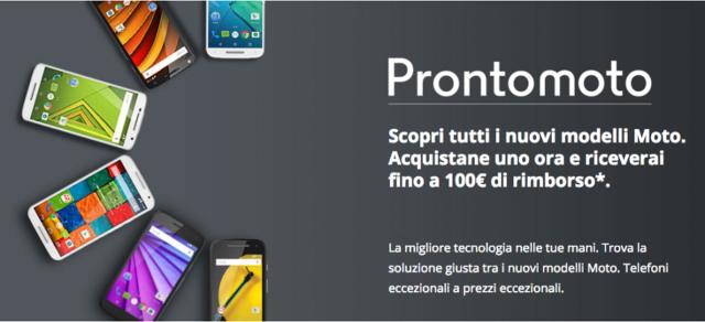 Motorola Moto E, G, X rimborso prezzo