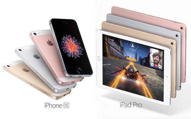iPhone SE, iPad Pro 9.7 prezzo Italia