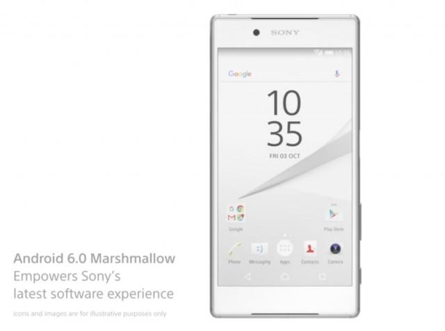 Sony Xperia Marshmallow: novità