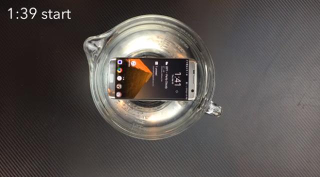 Samsung galaxy S7 test immersione
