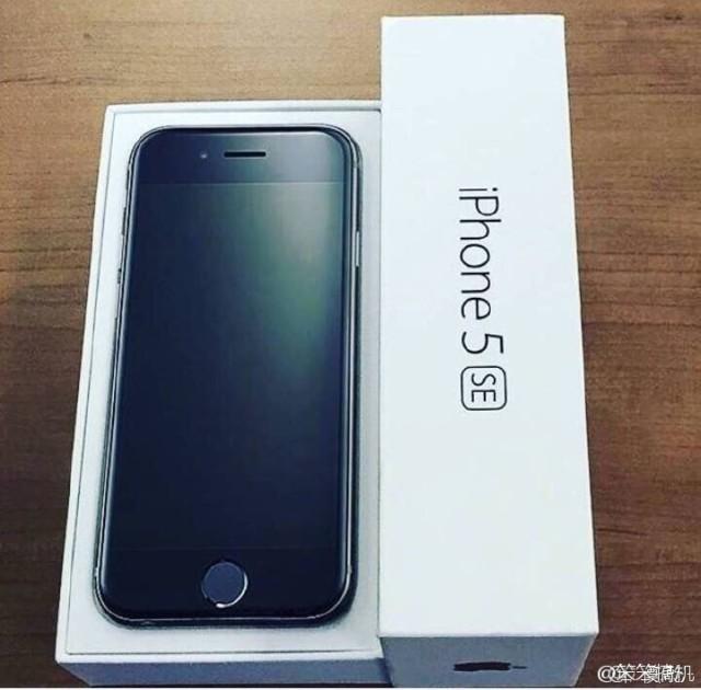 iPhone 5SE immagine dal vivo