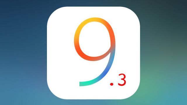 iOS 9.3 fix blocco