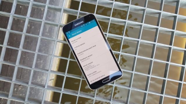 Galaxy S5, Note 4, Note Edge aggiornamento