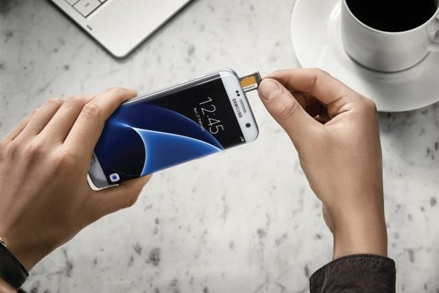 Galaxy S6 e Galaxy S7 microsd