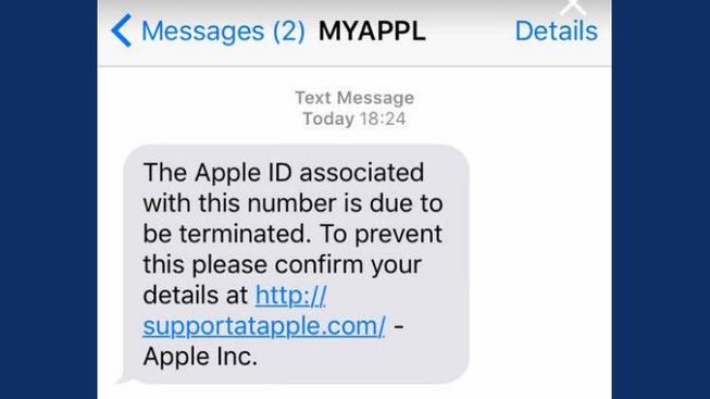 Nuova truffa su apparati Apple: messaggio falso dal colosso californiano