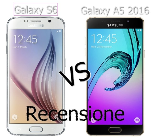 Galaxy S6 vs Galaxy A5 2016