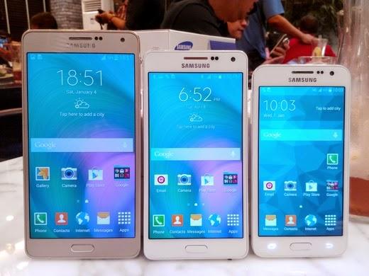 Galaxy A3, A5, A7: prezzi offerta