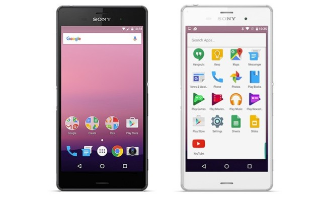 Android N Sony Xperia Z3