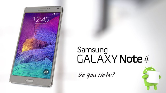 Galaxy Note 4 Marshmallow