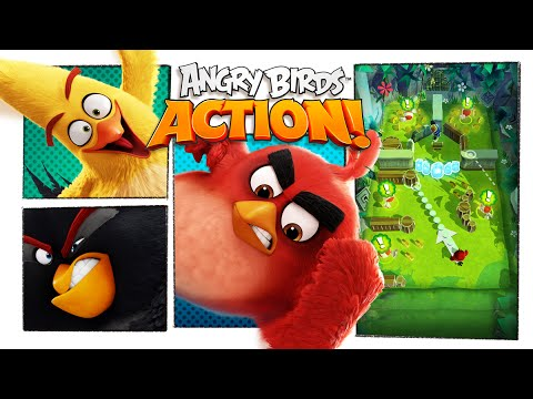 Angry Birds Action iPhone e iPad