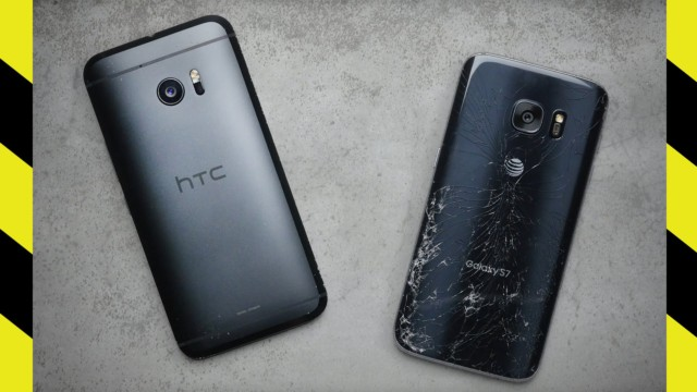 HTC 10 vs. Galaxy S7 Drop Test! (BQ)