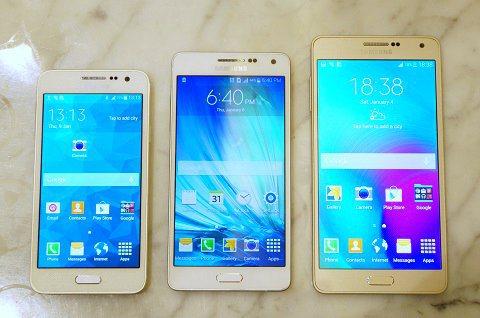 Galaxy A3, A5, A7