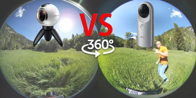 Samsung Gear 360 vs LG 360