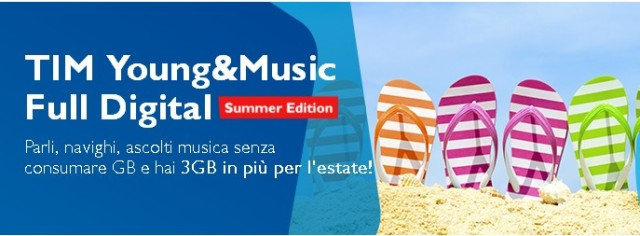 TIM Young & Music Summer Edition