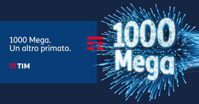 TIM Fibra 1000 mega