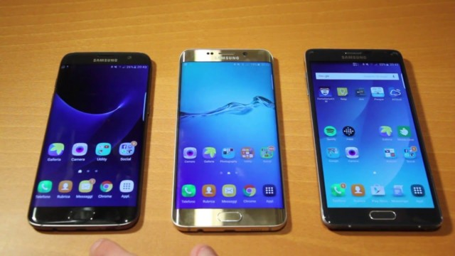 Galaxy S7, Galaxy S6 e Note 4 Marshmallow