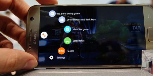 Galaxy S6, S6 Edge Game Launcher e Tools