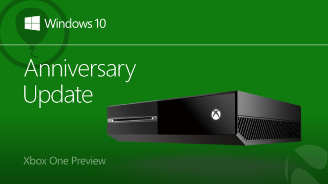 xbox one anniversary update