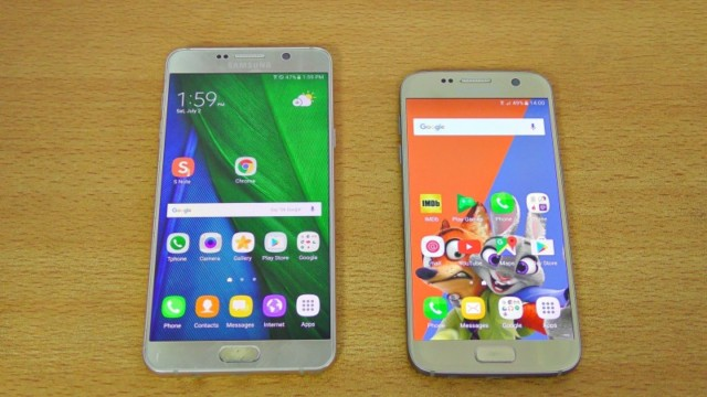 Galaxy S7 vs Galaxy Note 7