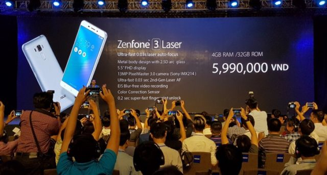 ASUS annuncia Zenfone 3 Max e Zenfone 3 Laser