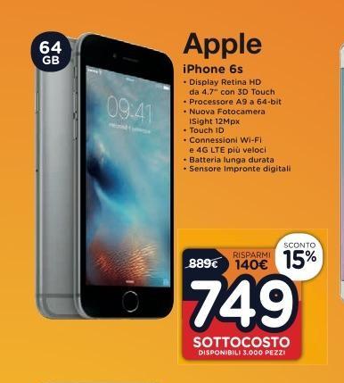 Iphone 6s Prezzo Volantino