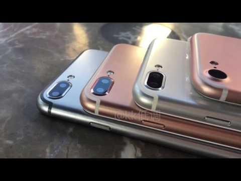 iPhone 7 Plus dal vivo in un video