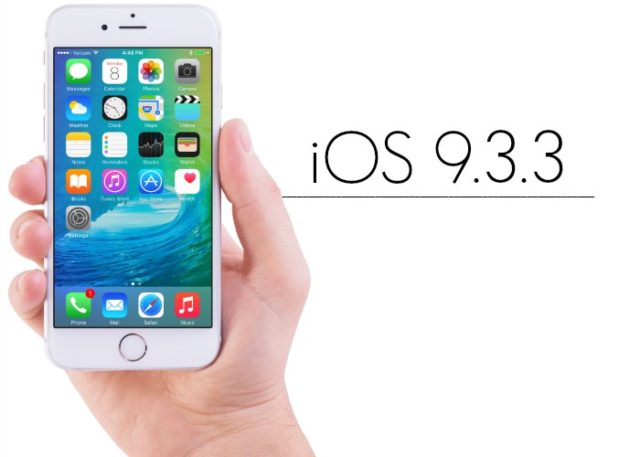 iOS 9.3.3 per iPhone e iPad