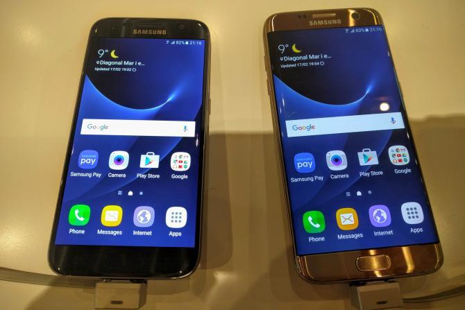 Galaxy S7, Galaxy S6 aggiornamento