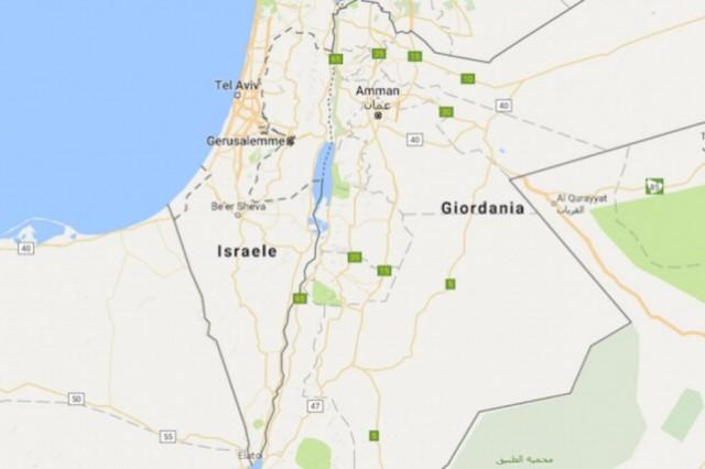 Google Maps senza Palestina