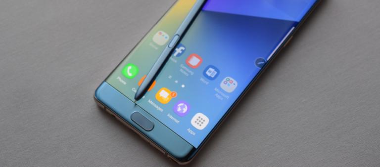 Galaxy Note 7 Benchmark