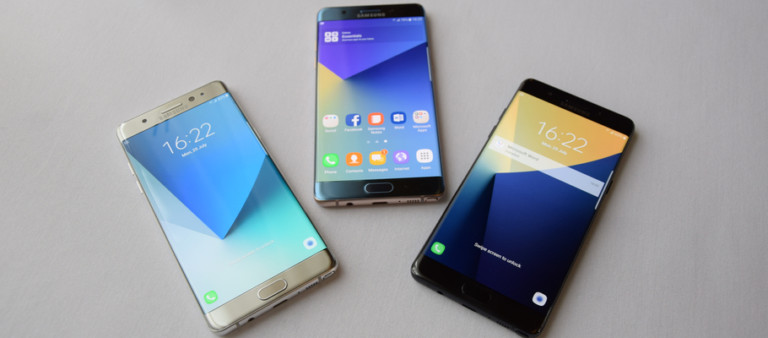 Galaxy Note 7 vs Galaxy Note 4