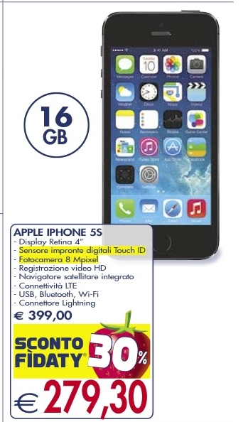 Iphone 5s usato milano 200 euro