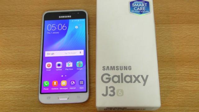 Galaxy J3 2016 sottocosto